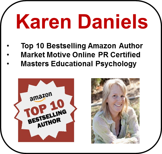 Karen Daniels, creativereneur - rebel writer