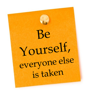 Creative enlightenment - be yourself
