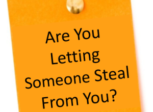 Is Someone Robbing You Right Now?